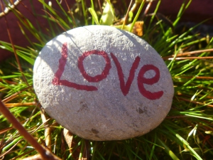 love stone close up