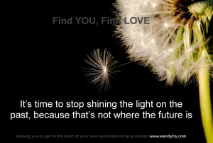 It's time to stop shining the light on the past, because that's not where the future is